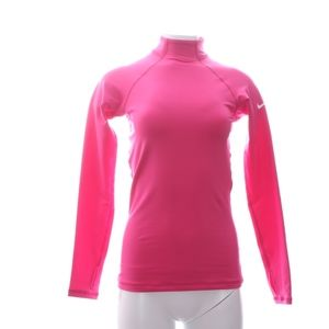 Nike Pro Pink Stretch Top LS Womens S